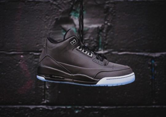 """Air Jordan 5Lab3 """"Black"""" Releases This Saturday"""