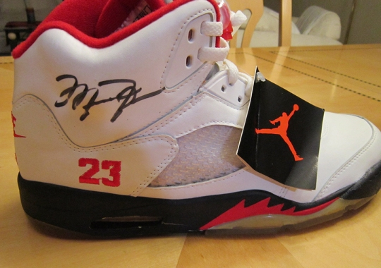 Sneakers That Ignited The Sample & PE Craze: Air Jordan 5s for NBA Players