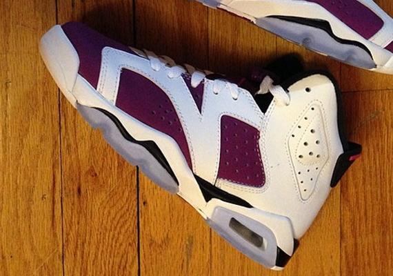 "buy online 5aca6 ef37a Air Jordan 6 GS ""Bright Grape"""