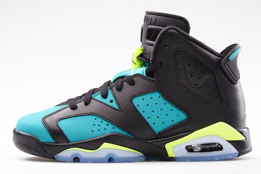 innovative design 2f438 b41f9 Air Jordan 6 GS Color  Black Volt Ice-Turbo Green-Black Style Code   543390-043. Release Date  05 10 14. Price   120