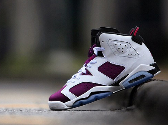 "Air Jordan 6 Retro GS ""Bright Grape"" - SneakerNews.com Retro 6 Grapes"