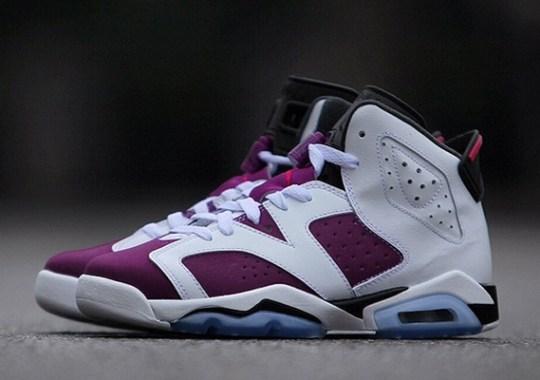 """Air Jordan 6 Retro GS """"Bright Grape"""""""