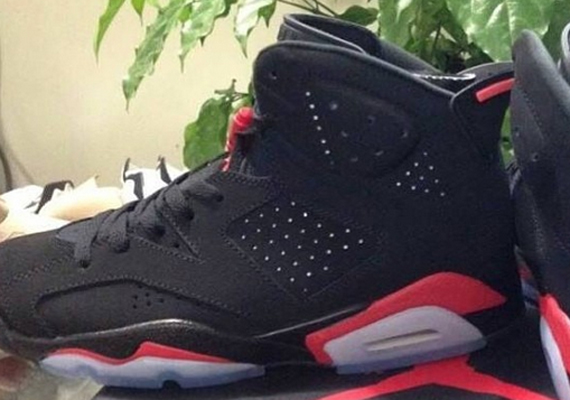 "8a11e69d3ae45 The Air Jordan 6 ""Black Infrared"" is releasing this Black Friday"