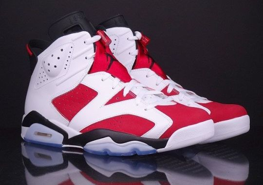 """The Air Jordan Retro """"Carmine"""" Collection Releases May 24th"""