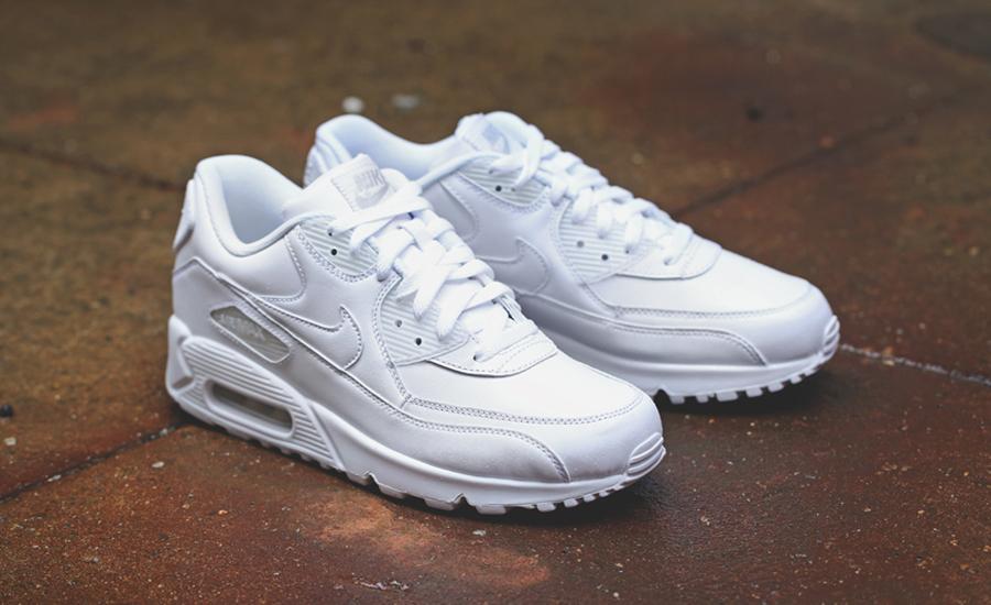 air max 90 all white
