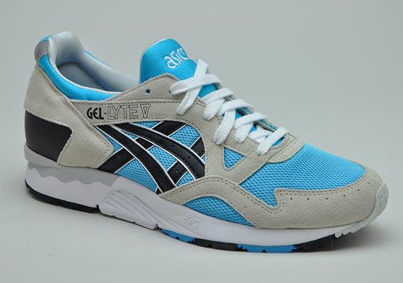 4fd5c859 Asics Gel Lyte V - Grey - Blue - SneakerNews.com