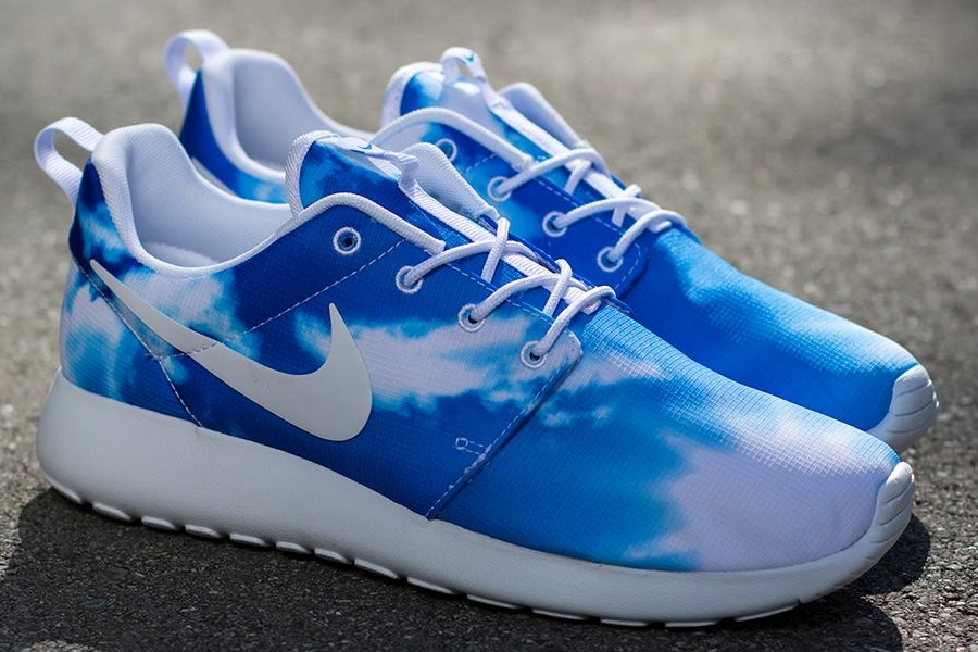Nike Roshe Run Print Quot Sunrise Amp Blue Sky Quot Sneakernews Com