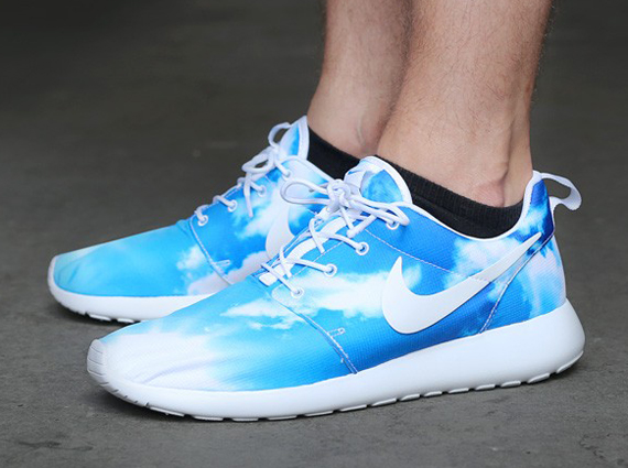 "df0350399714 The Nike Roshe Run ""Blue Sky"" is up for grabs now. The pair"