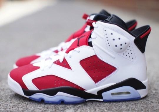 "Air Jordan 6 ""Carmine"" – Release Reminder"