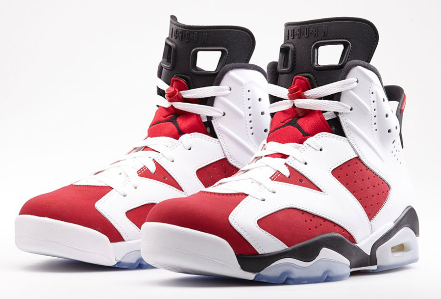 "Air Jordan 6 ""Carmine"" – Nikestore Release Info"