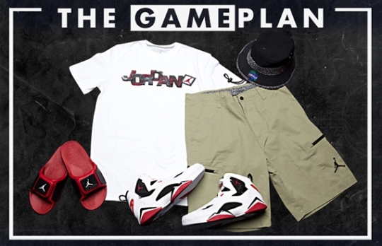 """The Game Plan"" by Champs Sports: Jordan Carmine Collection"