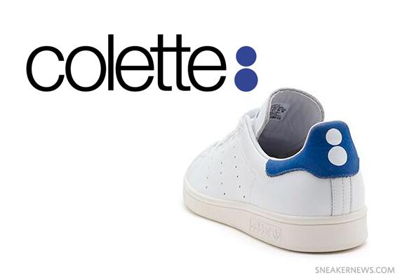 on sale 58316 0053b colette x adidas Originals Stan Smith - SneakerNews.com