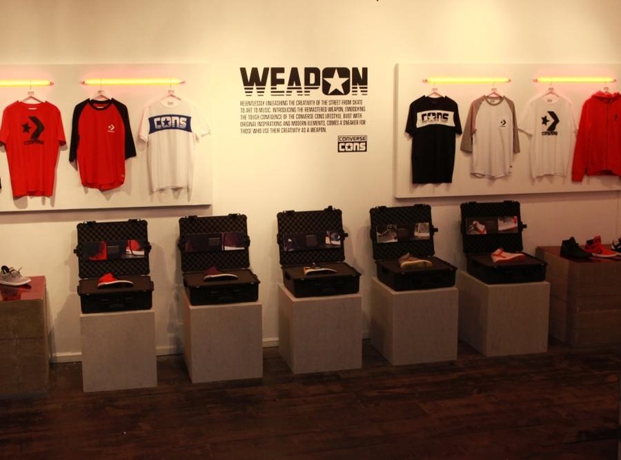 converse celebrates converse weapon collection Converse Celebrates the New CONS Weapon Collection