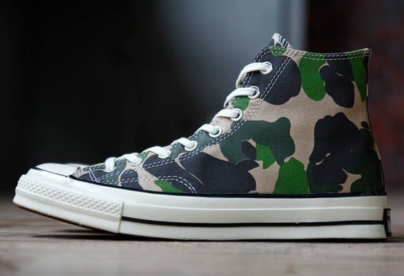 12f03d7dd58b The Converse Chuck Taylor All-Star in this camouflage colorway might seem  like a ploy to line up with recent camo obseesions