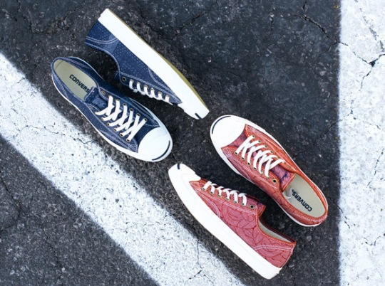 """Converse Jack Purcell """"Pocket Square"""" Collection"""