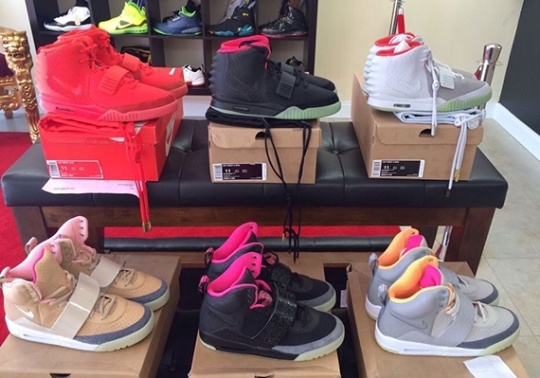 How Much Are All The Nike Air Yeezys Worth?