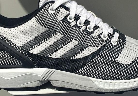Adidas originals Zx Flux Primeknit Running Shoe in White Lyst