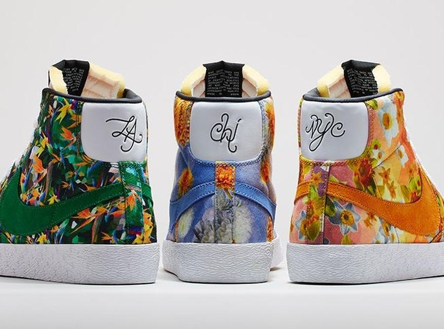 salida 2014 Nike Blazer Paquete De Mediados De Flores De La Ciudad comprar su favorito barato con MasterCard falsificación de descuento xeX0eI