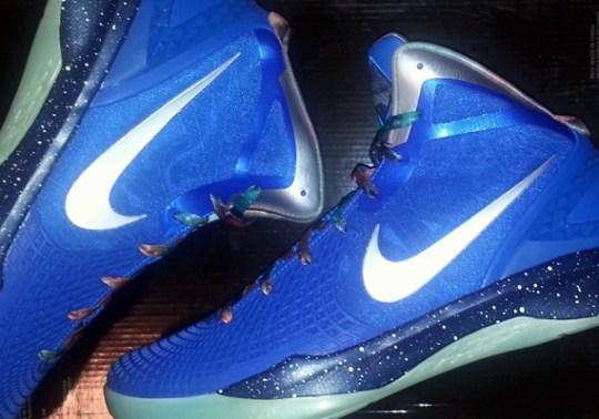"Nike Hyperdunk 2012 Supreme ""Galaxy"" PE on eBay"