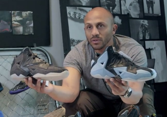 Nike Sportswear's Jonathon Johnson-Griffin Talks LeBron 11 EXT and Denim Samples