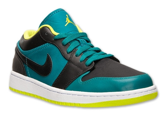 Venom Green 1s Air Jordan 1 Low - Lus...