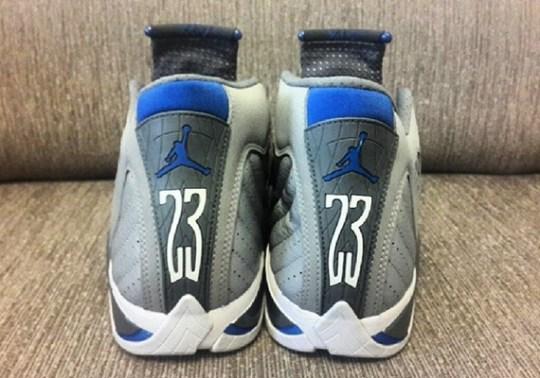 Air Jordan 14 – Wolf Grey – White – Sport Blue