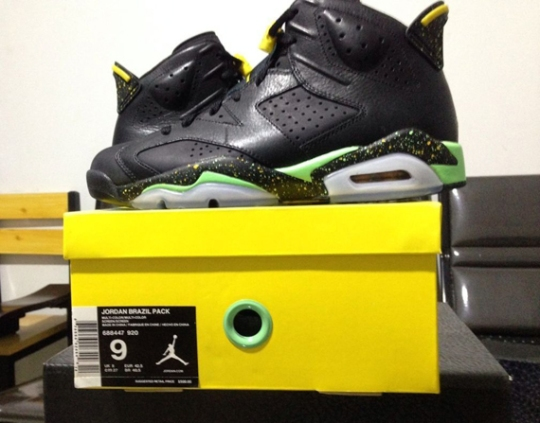 Jordan Brazil Pack – Release Date