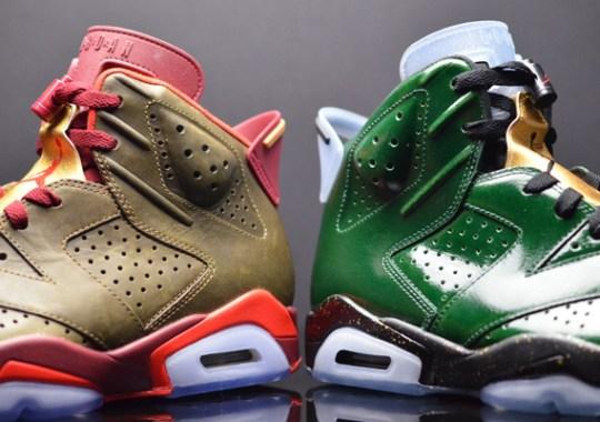 """Air Jordan 6 """"Cigar"""" + """"Champagne"""" – Release Date"""