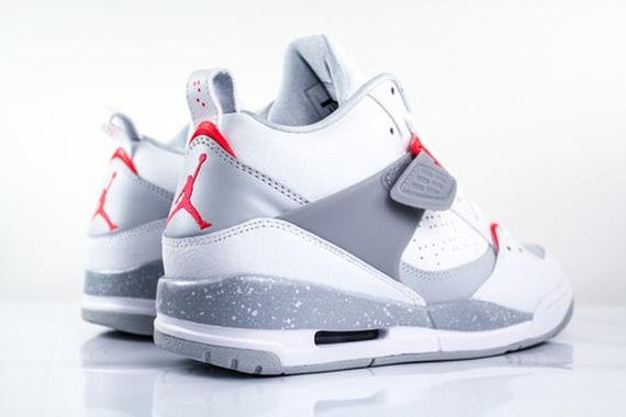 Vuelo Nike Air Jordan 45 Bajo Infrarrojo Blanco xSkJpD