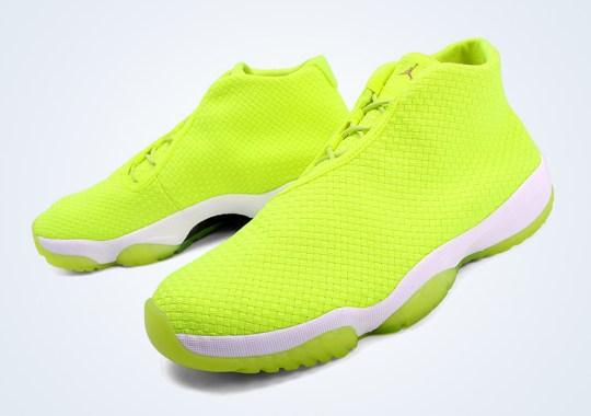 """Air Jordan Future """"Volt"""" – Arriving at Retailers"""