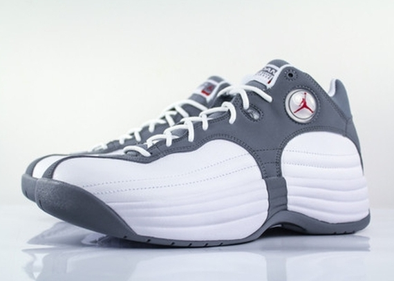 White Grey Jordan Team 1 Gym Cool Jumpman Red QsxotdChrB