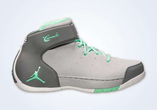 Jordan Melo 1.5 – Wolf Grey – Green Glow – Cool Grey