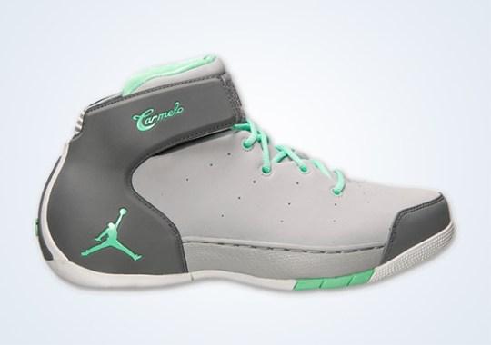 Jordan Melo 1.5 – Wolf Grey – Green Glow – Cool Grey