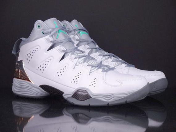 ef175a4406a cheap Jordan Melo M10 White Wolf Grey Green Glow - s132716079 ...