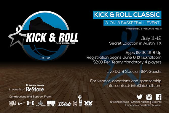 kick amp roll classic 3on3 basketball tournament for