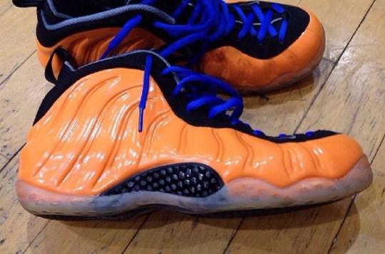 """""""Knicks"""" Nike Air Foamposite One"""