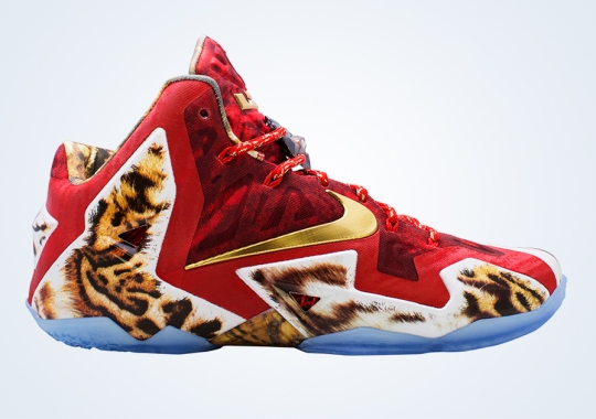 Nike Unveils The LeBron 11 2K14