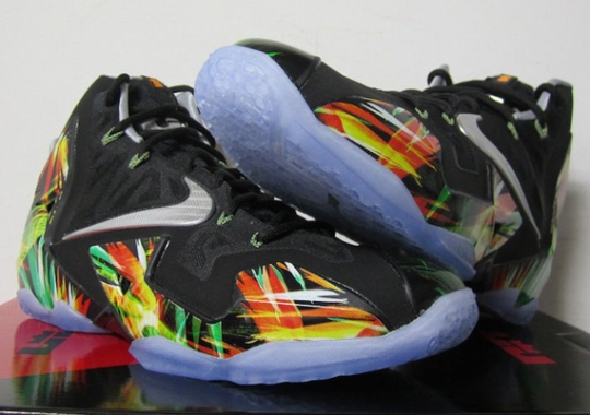 """Nike LeBron 11 """"Everglades"""" Release Postponed To May 31"""