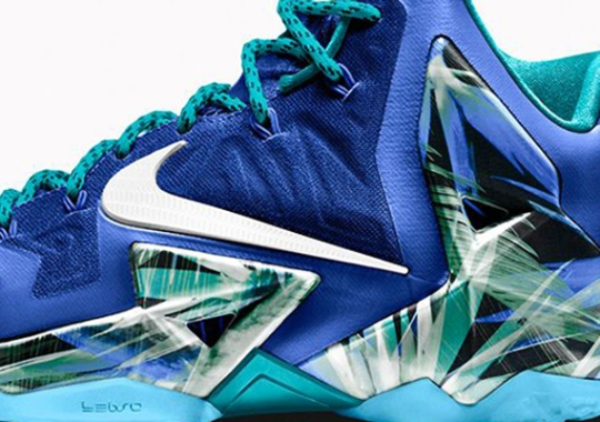 """NIKEiD LeBron 11 """"Everglades"""" to Release May 17th"""