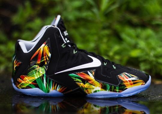 "Nike LeBron 11 ""Everglades"" – Release Reminder"