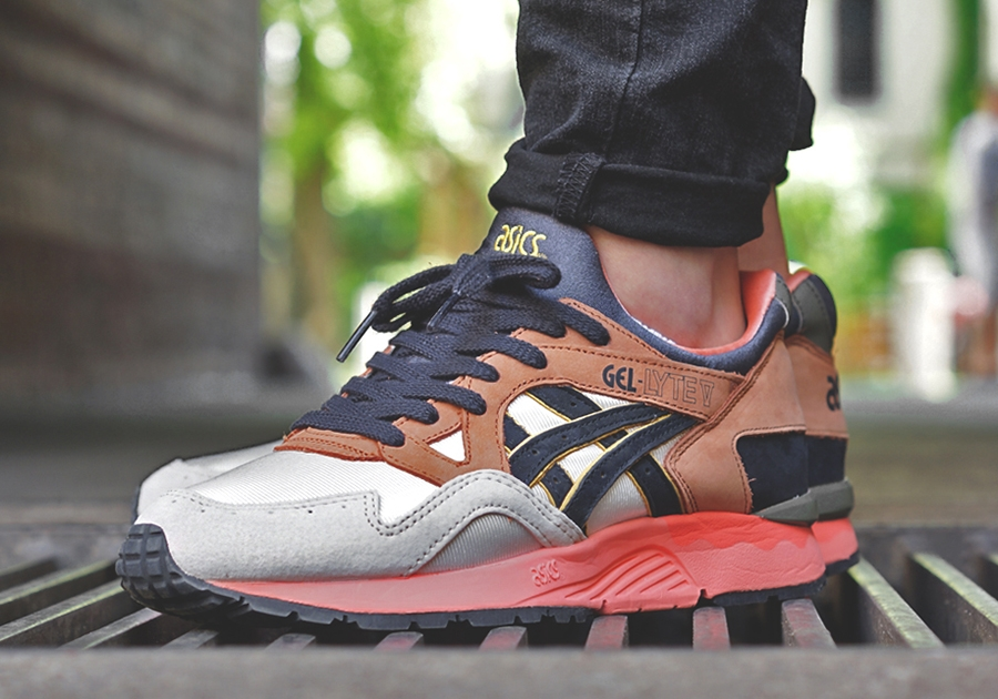 "purchase cheap bb8c7 736cf UBIQ x Asics Gel Lyte V ""Midnight Bloom"" – Euro Release Date -  SneakerNews.com"