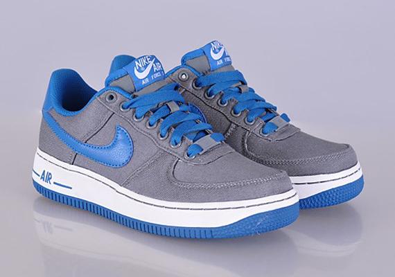 nike air force 1 blue grey