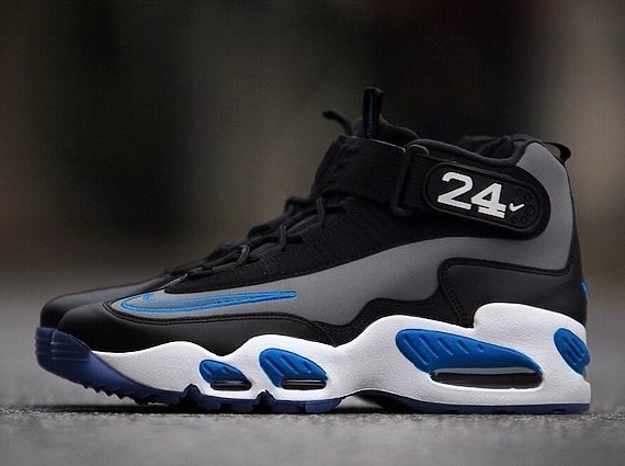 2d552ad0f7 Nike Air Griffey Max 1. Color: Cool Grey/Black-Photo Blue-White Style Code:  354912-009. Release Date: 06/06/14