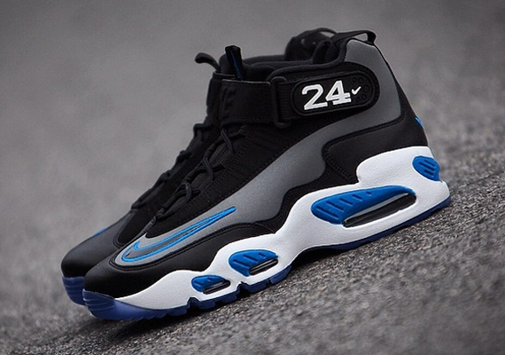 Nike Air Griffey Max 1 Freshwater Black White Fresh Water Sz 14
