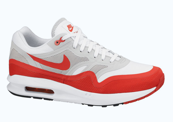 nike air max 1 white and red