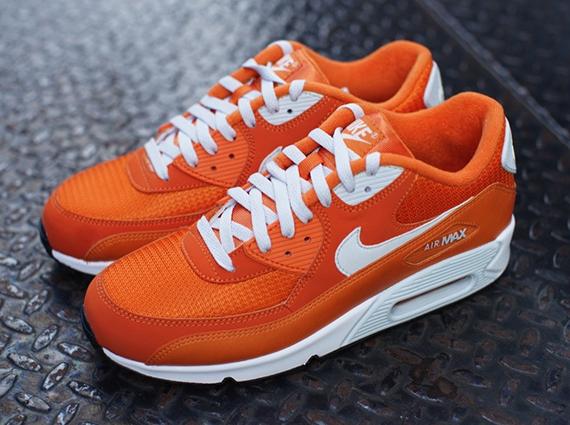 nike air max orange colour code