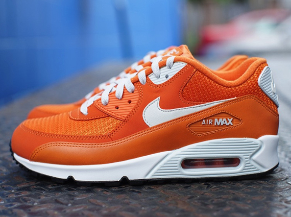 nike air max 90 orange