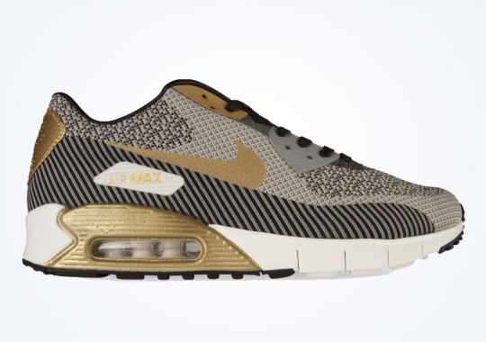 "Nike Air Max 90 Jacquard ""Gold Trophy"""