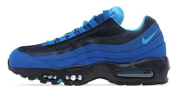 af850b48b9 free shipping Nike Air Max 95 Military Blue Vivid Blue ...
