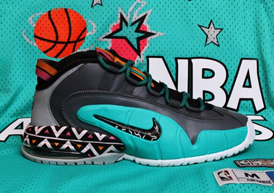 "Nike Air Max Penny 1 ""96 All Star"" by Dank Customs"